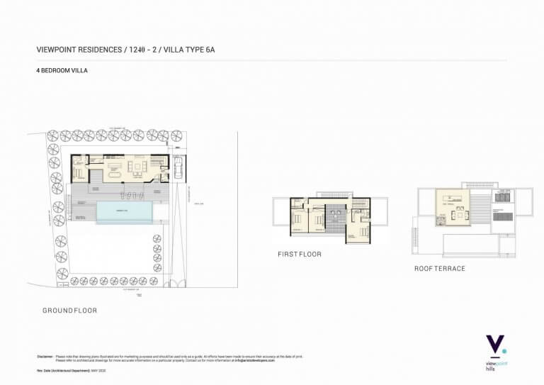 ViewPoint Hills Plot 1240 - 4 Bedroom Villas For Sale in Peyia