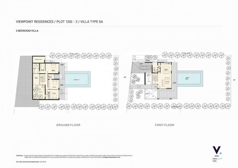 ViewPoint Hills Plot 1242 - 3 Bedroom Villas For Sale in Peyia