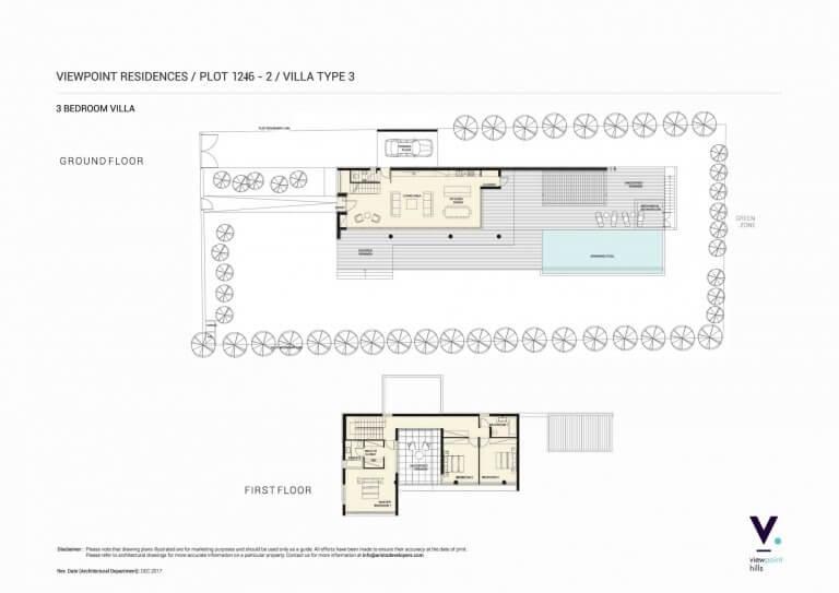 ViewPoint Hills Plot 1246 - 3 Bedroom Villas For Sale in Peyia