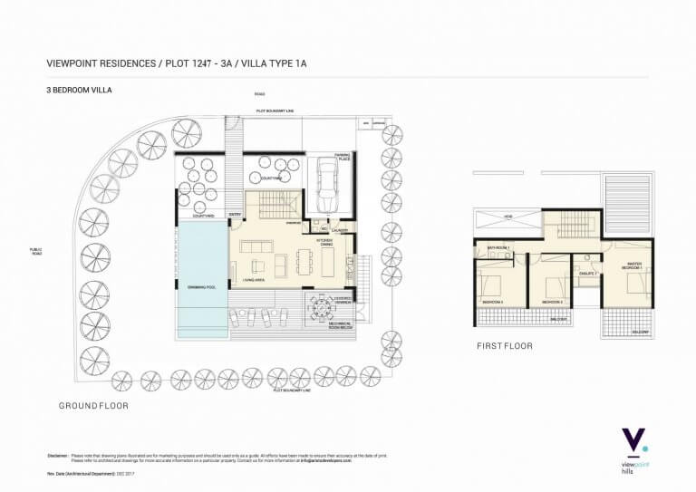ViewPoint Hills Plot 1247 - 3A Villa - 3 Bedroom Villas For Sale in Peyia