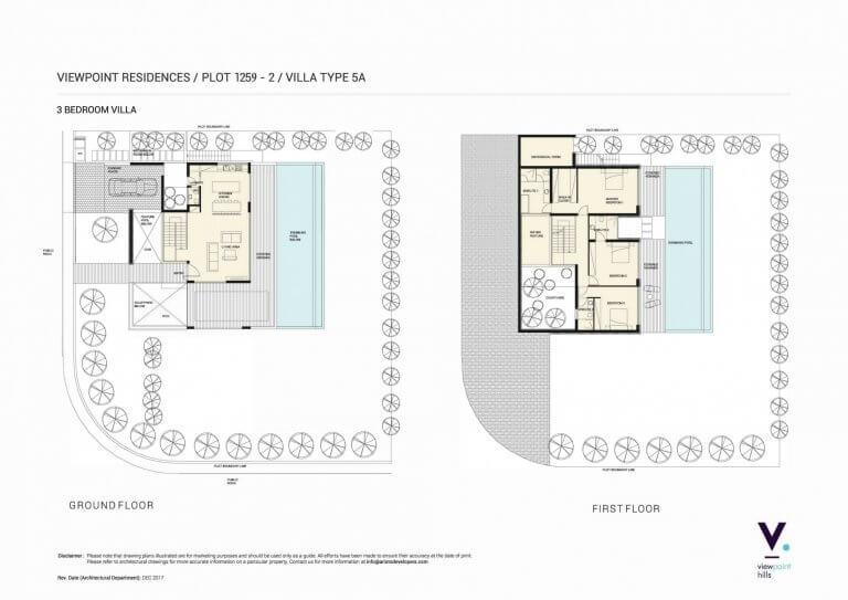 ViewPoint Hills Plot 1259 - 3 Bedroom Villas For Sale in Peyia