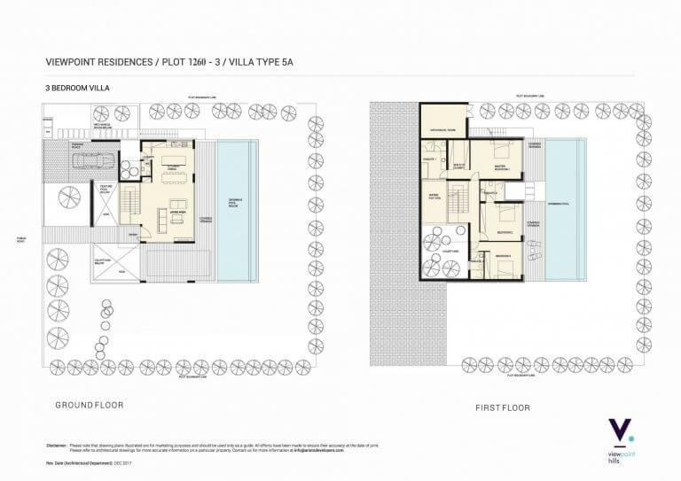ViewPoint Hills Plot 1260 - 3 Bedroom Villas For Sale in Peyia