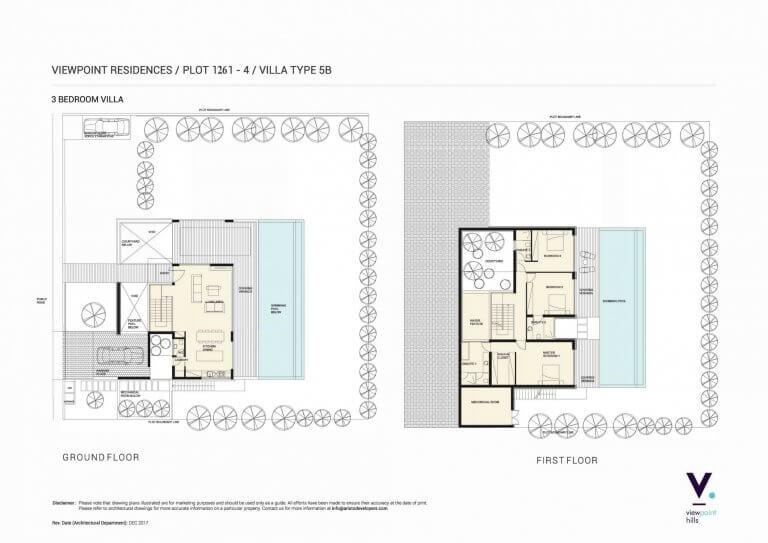 ViewPoint Hills Plot 1261 - 3 Bedroom Villas For Sale in Peyia