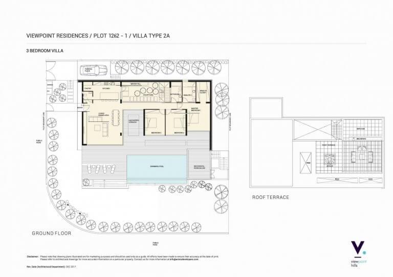 ViewPoint Hills Plot 1262 - 3 Bedroom Villas For Sale in Peyia
