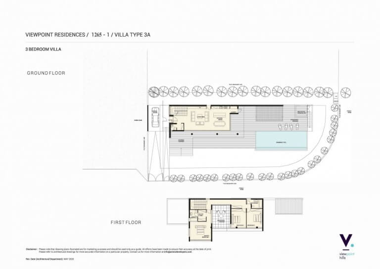 ViewPoint Hills Plot 1265 - 3 Bedroom Villas For Sale in Peyia