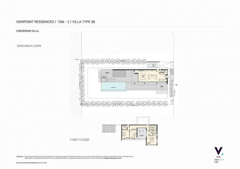 ViewPoint Hills Plot 1266 - 3 Bedroom Villas For Sale in Peyia