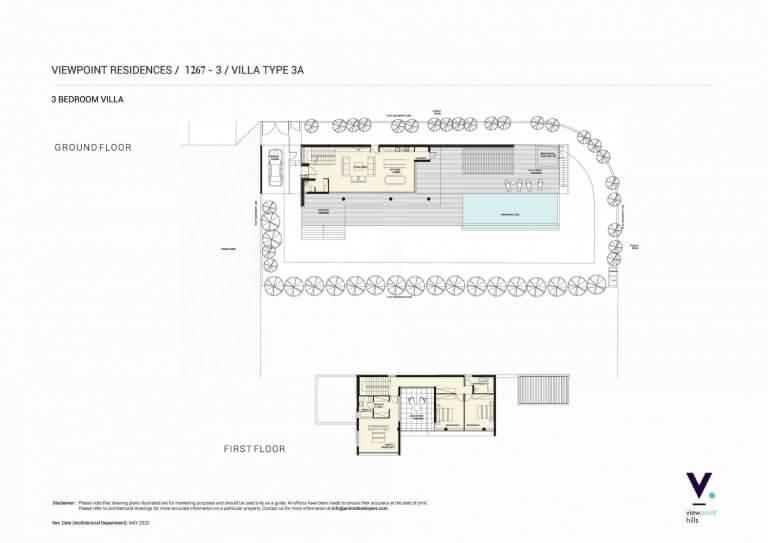 ViewPoint Hills Plot 1267 - 3 Bedroom Villas For Sale in Peyia