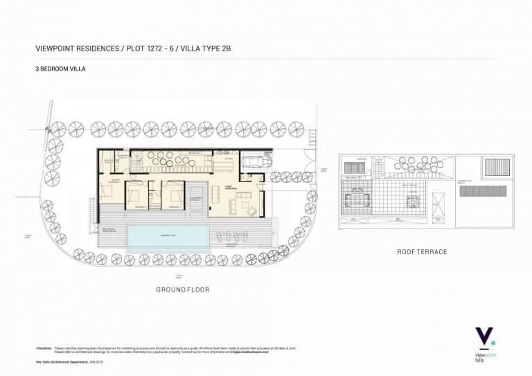 ViewPoint Hills Plot 1272 - 3 Bedroom Villas For Sale in Peyia