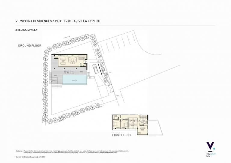 ViewPoint Hills Plot 1280 - 3 Bedroom Villas For Sale in Peyia