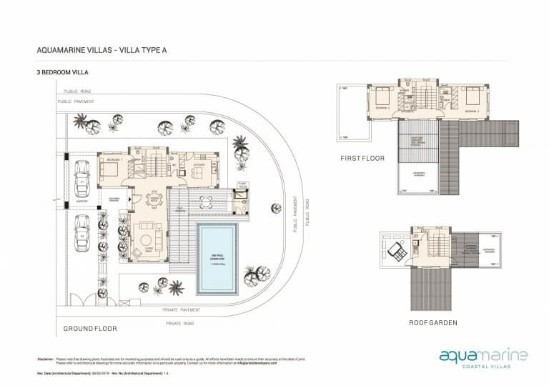 AQUAMARINE FLOOR PLANS TYPE-A---3BRM