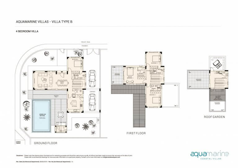 AQUAMARINE FLOOR PLANS Type-B--4BRM