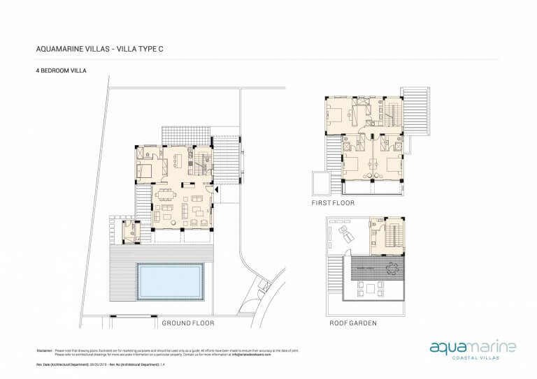 AQUAMARINE FLOOR PLANS Type-C--4BRM