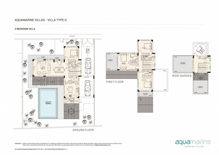 AQUAMARINE FLOOR PLANS Type-G--4BRM