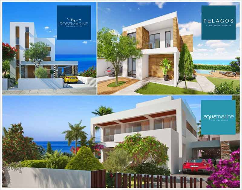 High Demand for Coastal Properties in the district of Pafos