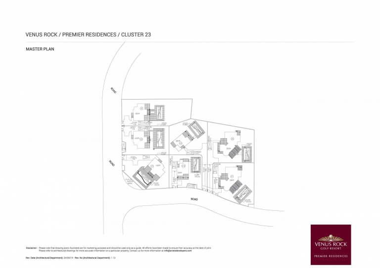 Premier Residences Cluster 23 Master Plan Site