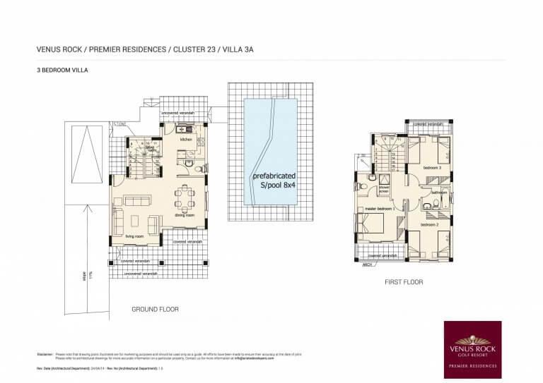 Premier Residences Villa 3A - 3 Bedroom Villa For Sale in Venus Rock
