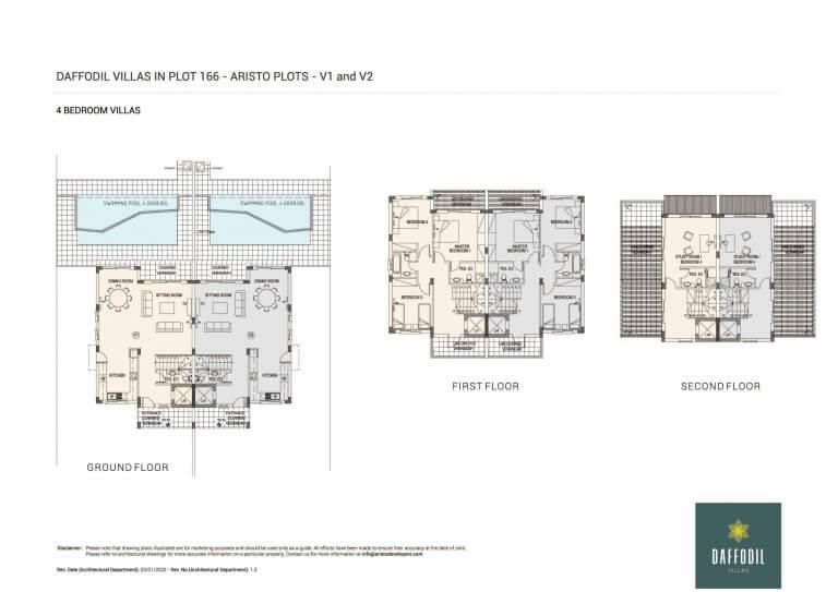 Daffodil-Villas-in-Plot-166 (Floor Plans)