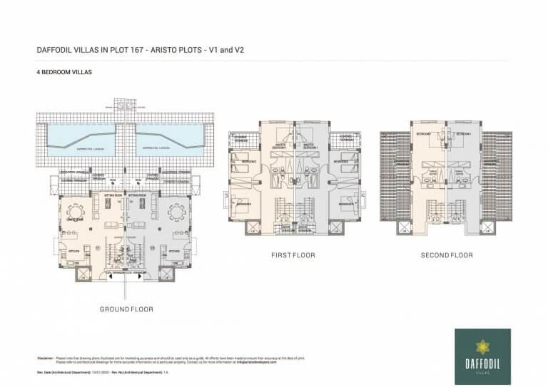 Daffodil-Villas-in-Plot-167 (Floor Plans)