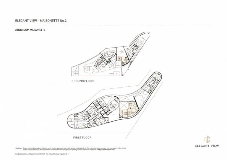 Elegant View Maisonette 2 (Floor Plans)