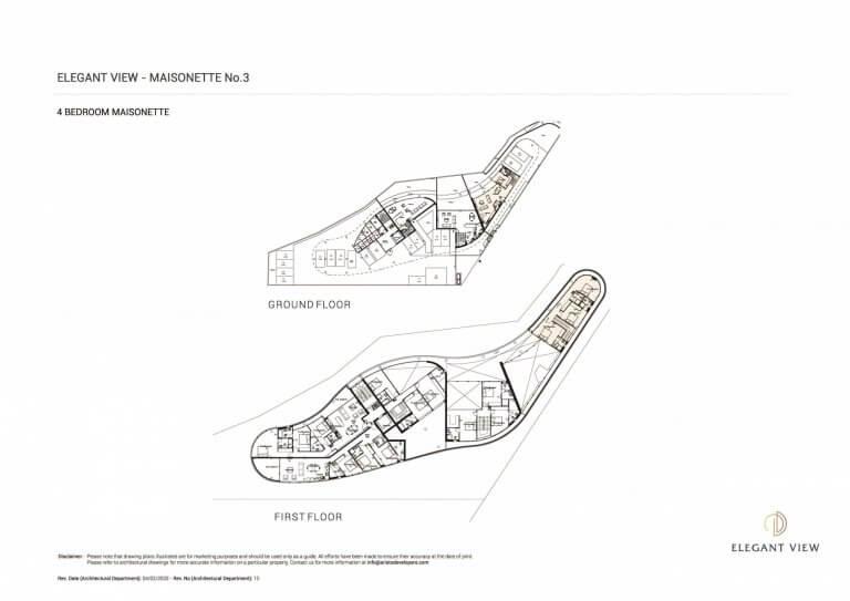 Elegant View Maisonette 3 (Floor Plans)