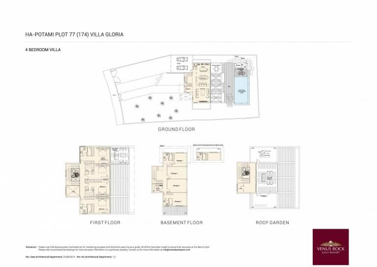 GLORIA Floor Plans