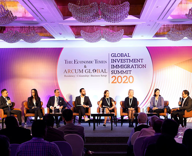 Aristo Developers At The Global Investment Immigration Summit, 2020
