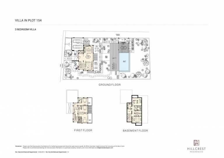 Hill Crest Residences PLOT-154 (Floor Plans)