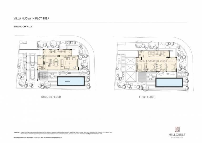 Hill Crest Residences PLOT-158A (Floor Plans)