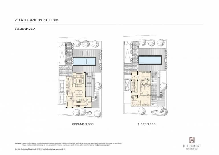 Hill Crest Residences PLOT-158B (Floor Plans)