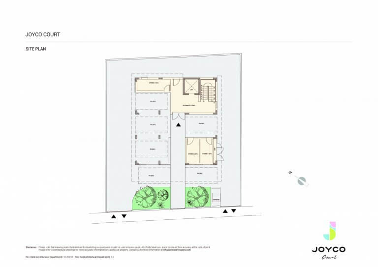Joyco Court Master Plan - 3 Bedroom For Sale in Paphos