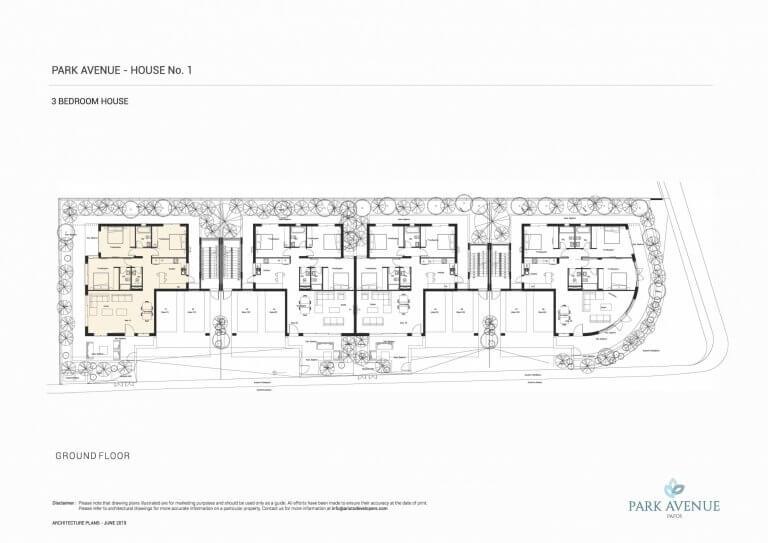 Park Avenue Floor Plans No-1