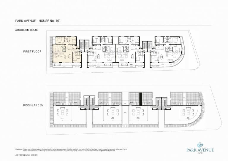 Park Avenue Floor Plans No-101