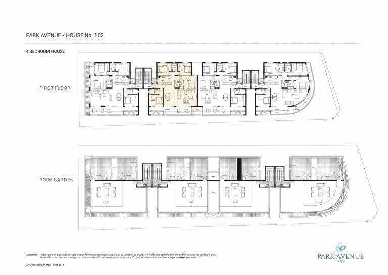 Park Avenue Floor Plans No-102