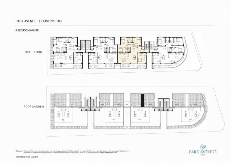 Park Avenue Floor Plans No-103