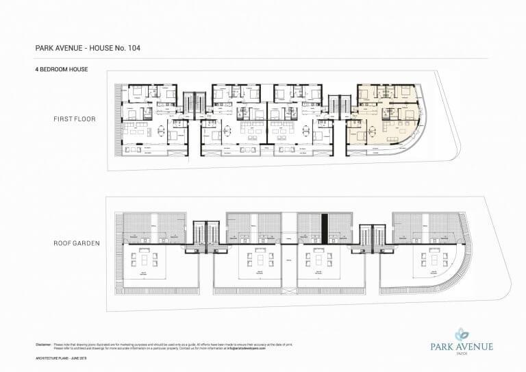 Park Avenue Floor Plans No-104