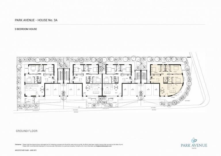 Park Avenue Floor Plans No-3A