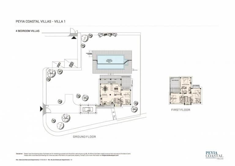 Peyia Coastal Residences V1 (Floor Plans)