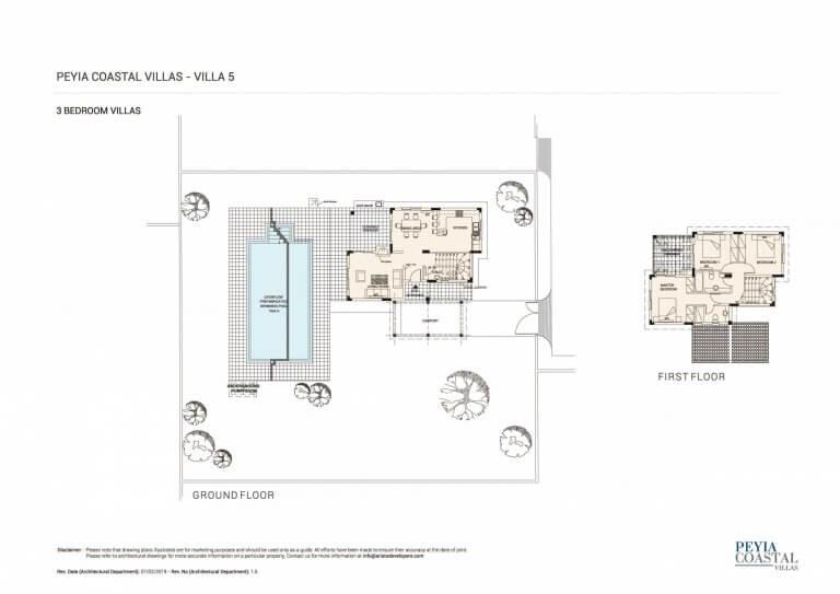 Peyia Coastal Residences V5 (Floor Plans)