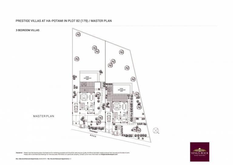 Prestige Villas Master Plan Site