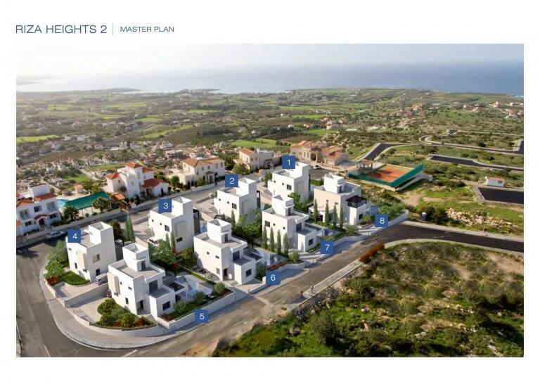2, 3 & 4 Bedroom Villa Riza Heights 2 Master Plan