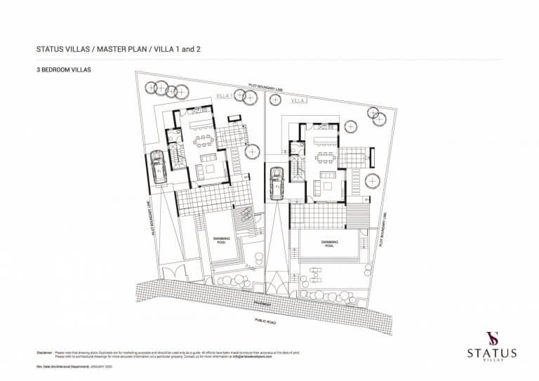 Status Villas Master Plan