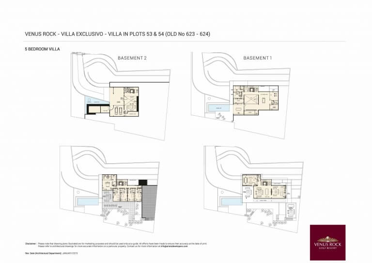 VILLA EXLUSIVO (Floor Plans)