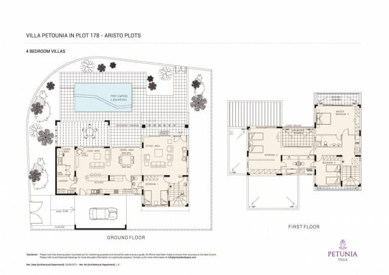 VILLA-PETOUNIA (Floor Plans)