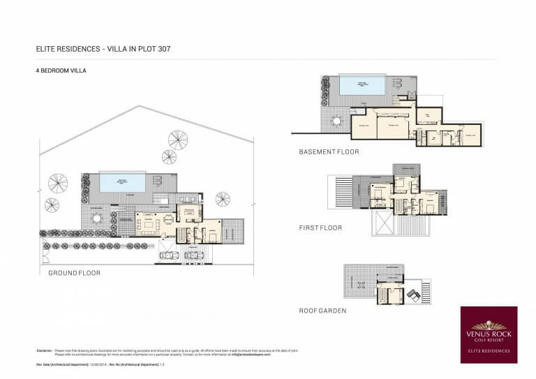Venus Rock Elite Residences 307 (Plans)