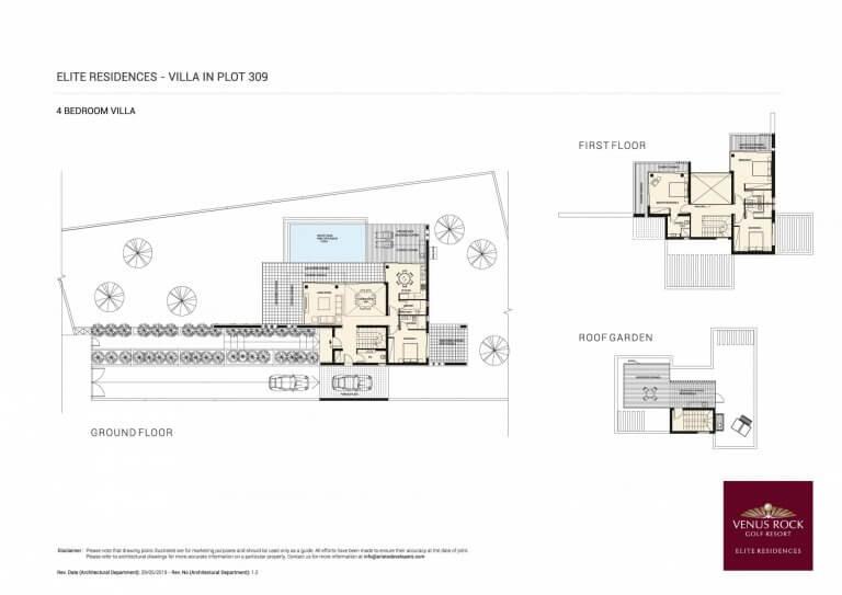 Venus Rock Elite Residences 309 (Plans)