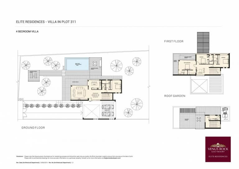 Venus Rock Elite Residences 311 (Plans)