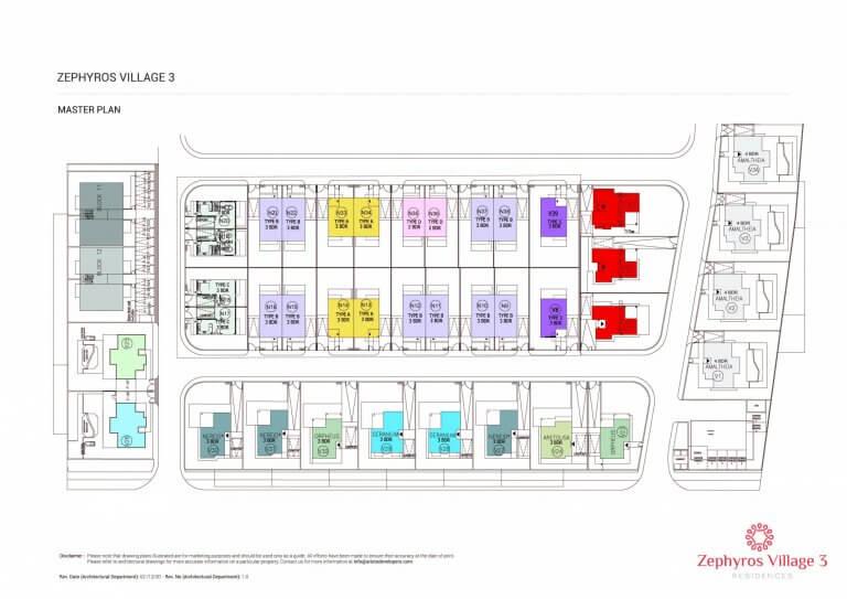 Zephyros Village 3 - Master Plan Site